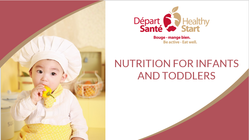 Nutrition for Infants and Toddlers picture