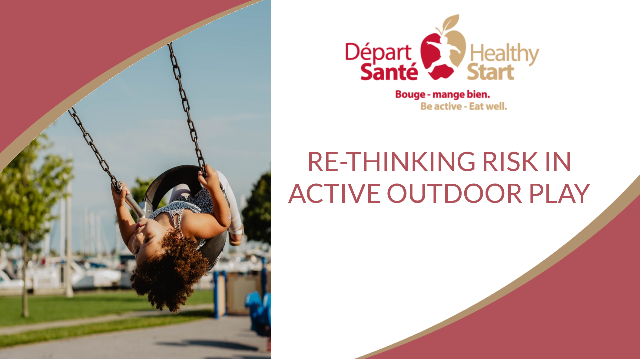 Re-thinking risk in active outdoor play picture