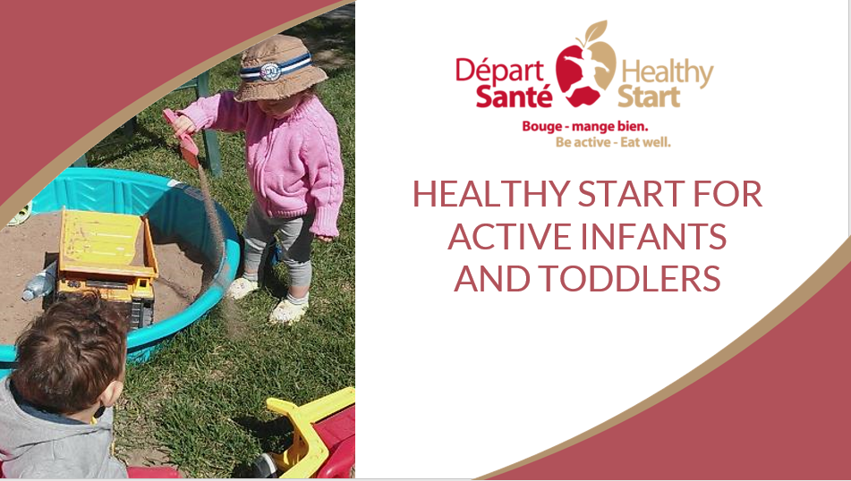 For Active Infants and Toddlers Picture